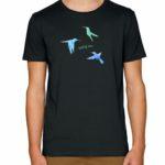 Produkt - pánské triko - černé - postava