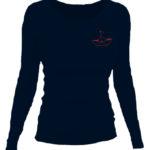 SESTRY GEISLEROVY_tričko s dlouhým rukávem dámské černé