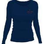 SESTRY GEISLEROVY_tričko s dlouhým rukávem dámské tmavě modré