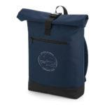 Batoh modrý_BG855 Roll-Top Backpack_cestovatele